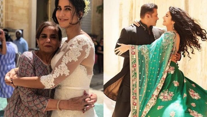 katrina kaif hugging salman khan's mother